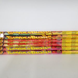 10 Ball Thunder Buster Mult. Roman Candle Brick of 6