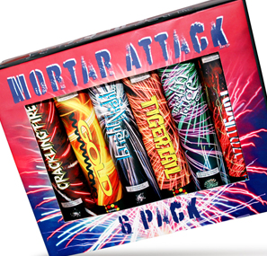 Mortar Attack 6-Pack