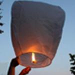 White Flying Lantern