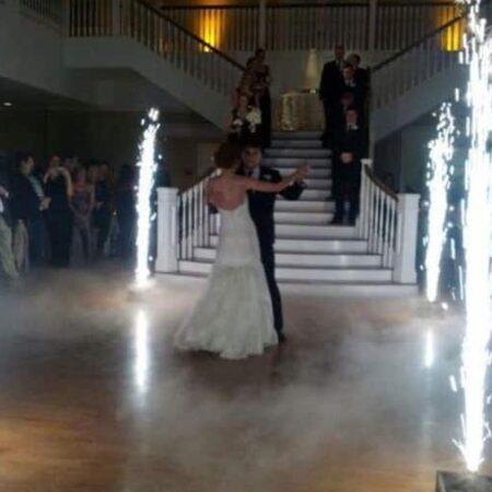 indoor sparkler fountain
